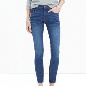 "MADEWELL 9"" High Riser Skinny Skinny Crop Jeans 29"